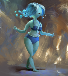 Water Nymph, Adventure time Fanart by MikeAzevedo