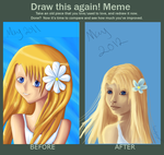 Hello, Summer - before and after by Rainydaysmiles