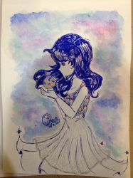 Traditional art 01 by DStackNotebookS