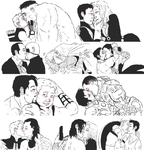 AVENGERS : kissing requests by LadyNorthstar