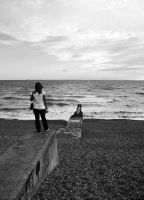 Brighton coast by Kitty27Wolfe