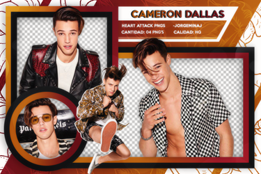 Pack png // Cameron Dallas by JorgeMinaj