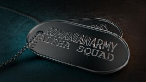 RomanianArmy DogTags AVA Clan by stefitms
