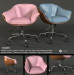 Swivel Chair (Free Model) by LuxXeon