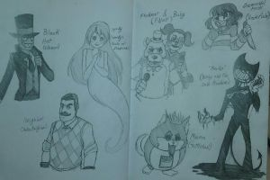 Some fandoms I'm currently into by SoumaTheDoodler