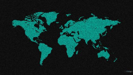 World map wallpaper by gio0989