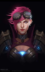 VI portrait sketch by TheFearMaster