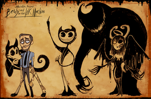 Bendy and the Ink Machine II by Atlas-White