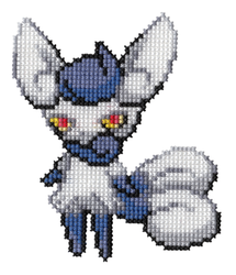678 - Meowstic by Devi-Tiger