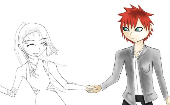 -WIP-  Happy Birthday Gaara~!! by chibichewy-a