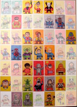 Sketch Cards for Sale by MattKaufenberg