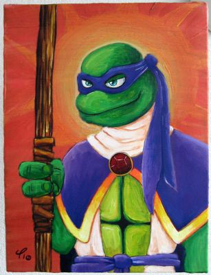 Saint Donatello by janimutikainen