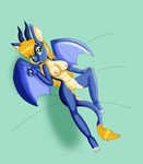 Sexy Guinever Pinup Nude by KendraTheShinyEevee