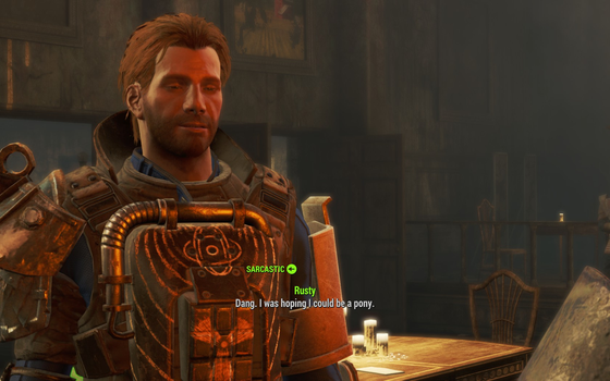 Fallout 4: Sorry boss, you're more of a donkey. by RustyRaccoon