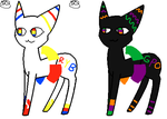 Orbicat Auctions: Primary and Secondary Colors by ShellyCake