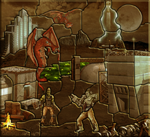 Forge Town Puzzle by JMSower