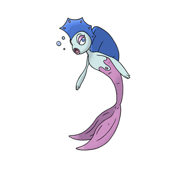 Siren-Mermaid Fakemon - SOLD by fauxlens