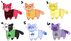 rainbow adopts // open by skeleshibe
