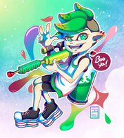 Splatoon [FanArt] by Remivix