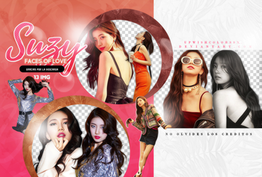 SUZY PNG PACK#2/ FACES OF LOVE by Upwishcolorssx