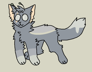 weird alien cat tingy adopt (OTA) OPEN! by WHOSHI1