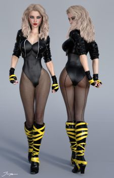 Character ref Black Canary v2 by tiangtam