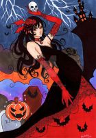Vampire Princess: TRICK OR TREAT by ReiRaven