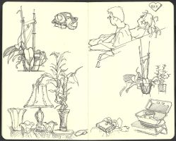 Sketchbook (2008/09): Page 1 by aka-Pencils