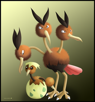 Doduo and Dodrio