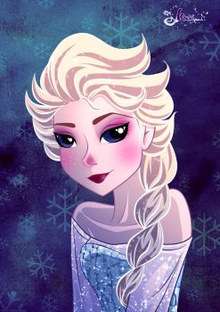 Frozen by K-a-o-r-i