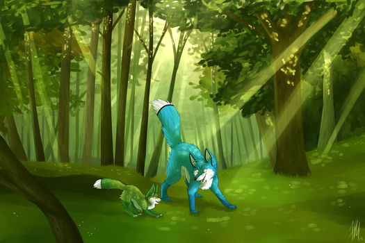 What A Beautiful Existence -Speedpaint- by JamKitsune