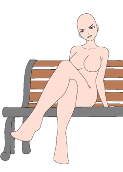 .:bench base ms paint ver:. by Fairfarren-cheshire