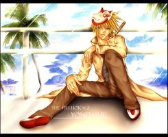 yondaime in beautiful holiday2 by AikaXx