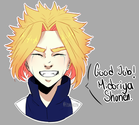 Toshinori Yagi - All Might Fanart by Zomnien