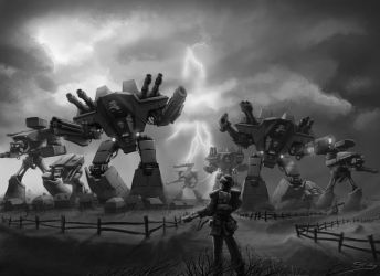 Wh40K: Titan Legion on the March by StugMeister