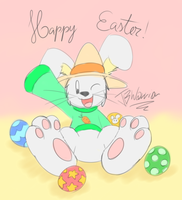 Ace wishes you had a Happy Easter by JBtheShadow