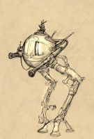Long-Legged Freakbot by JRinaldi