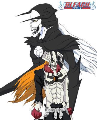 Bleach: Hollows (Father and Son) ~Colored~ by Omnimon1996