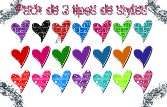 +Pack De 4 Styles {Vivi} by TheBeautyOfWords