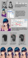 Coloring Tutorial by Wuduo