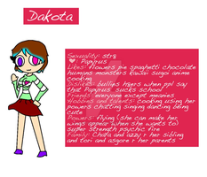 Dakota My Undertale Oc!!! by KawaiiUrsaChan
