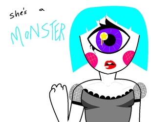 she's a MONSTER [click for full] by MoonGazerThePony