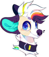 You can see rainbow in my mane by n00ney