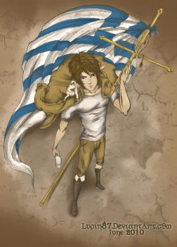 APH - Patriot Of Greece - by TheLupin