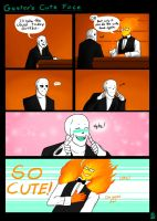 Gaster's Cute Face by APEX-Knight