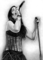 Anette Olzon - The Passion by Esteljf