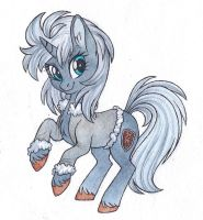 Gray mare by Red-Watercolor