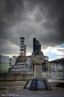 Chernobyl Reactor Number 4 by Robgrafix
