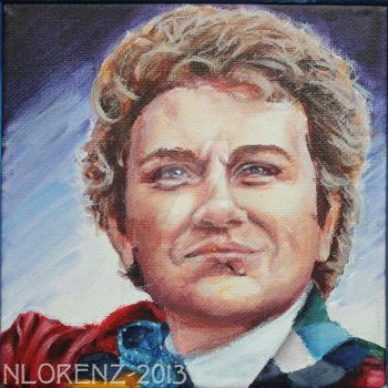 The Sixth Doctor: 50th Anniversary by napalmnacey