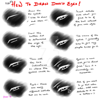 Day 52: Art Tutorial on DoLL's Eyes by LCD-Production